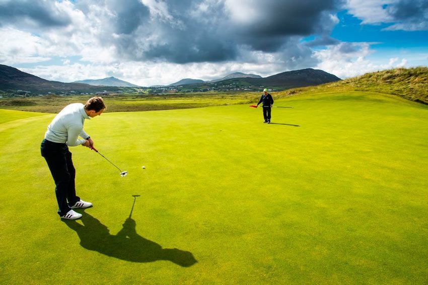 Golf and excursions at equestrian camps ireland