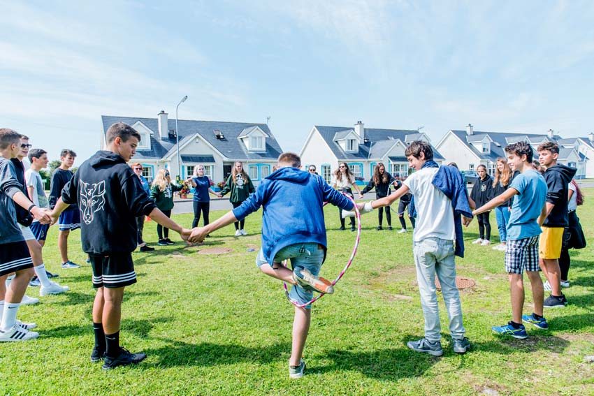 Group activities english-and-equestrian-horse-riding-camp-in-ireland
