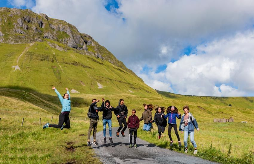 group excursion ireland fields equestrian camps
